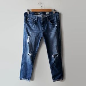AG Adriano Goldschmied Stilt Ciggerette Crop Jeans